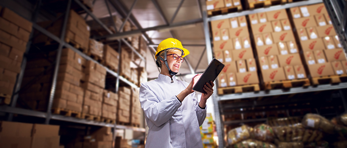Designing for ergonomics in a manufacturing and warehouse setting