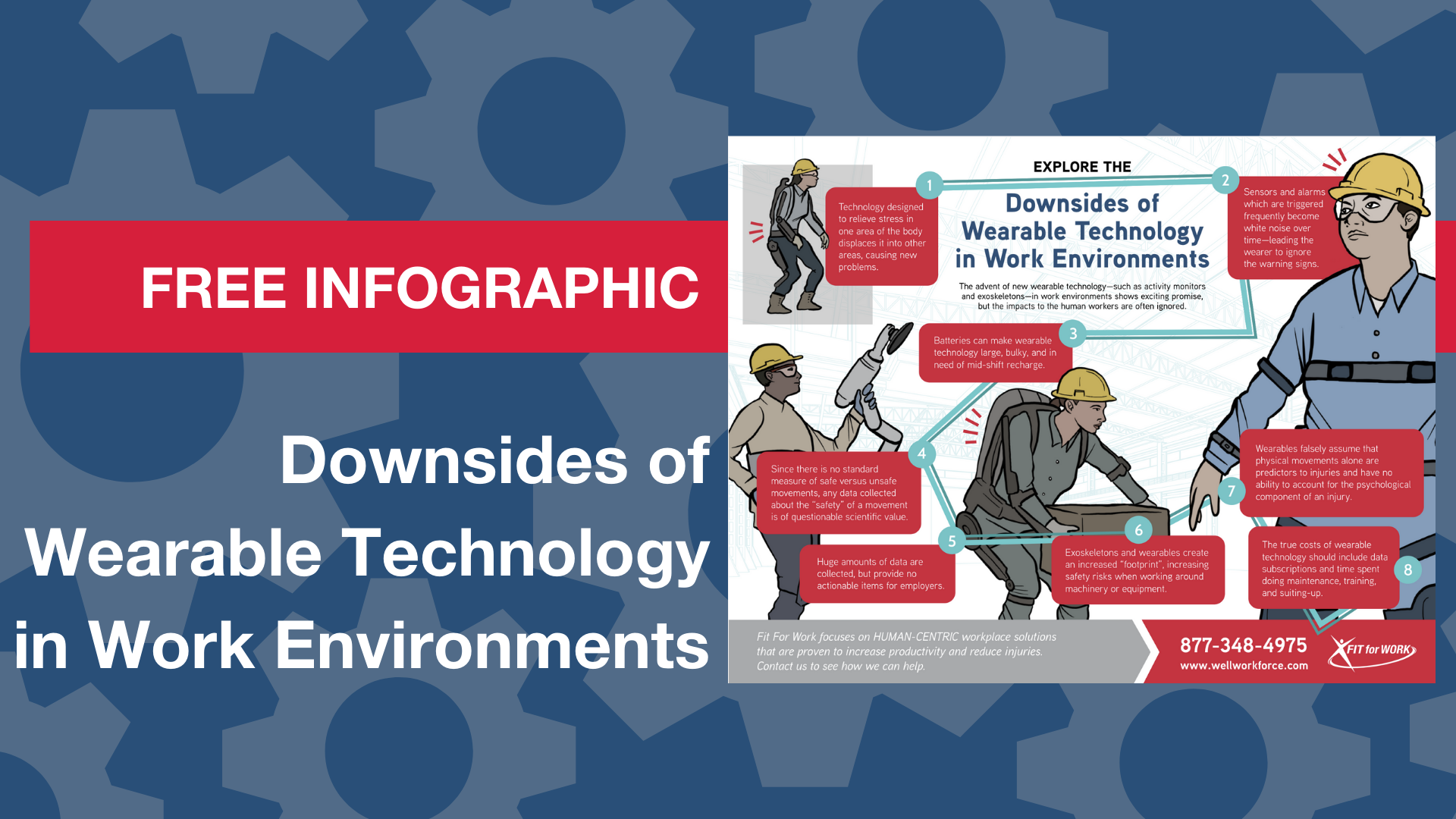 Infographic: Downsides to Wearable Technology in the Workplace