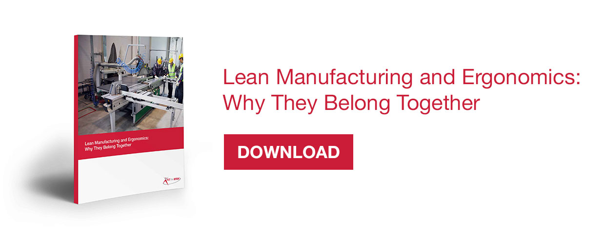 eBook: Lean Manufacturing and Ergonomics: Why They Belong Together